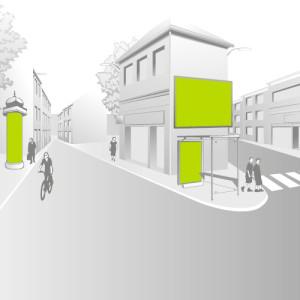 Affichage urbain et transport